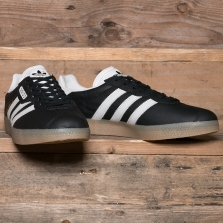 adidas Originals Bb5244 Gazelle Super Black Vintage White