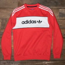adidas Originals Bk7804 Block Crew Red