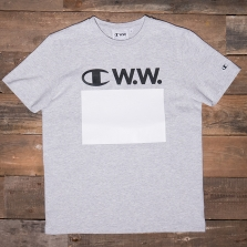 CHAMPION WOOD WOOD 211085 Crewneck T-shirt Em006 Grey