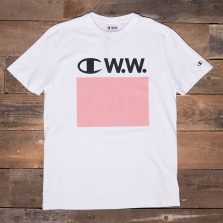 CHAMPION WOOD WOOD 211085 Crewneck T-shirt Ww008 White