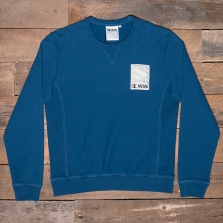 CHAMPION WOOD WOOD 211084 Crewneck Sweatshirt Bs501 Navy