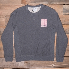 CHAMPION WOOD WOOD 211084 Crewneck Sweatshirt Km001 Heather Black