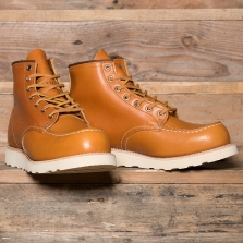 Red Wing 09875d 6 Moc Toe Irish Setter Gold