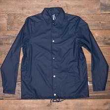 Rains Waterproof Coach Jacket Blue
