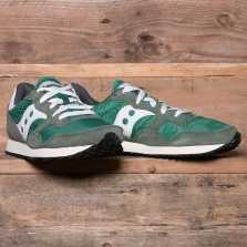 SAUCONY S70369-3 Dxn Trainer Vintage Green/white