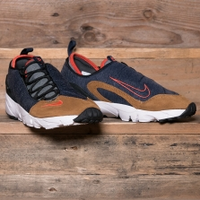 NIKE Air Footscape Nm 852629 401 Obsidian Team Orange