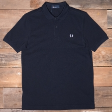 Fred Perry M6000 Plain Fred Perry Shirt 608 Navy