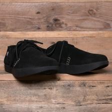 YOGI Orson Negative Heel Shoe Suede Black