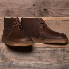 Clarks Originals Desert Trek Hi Leather Cola