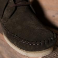 Clarks Originals Weaver Suede Peat The R Store