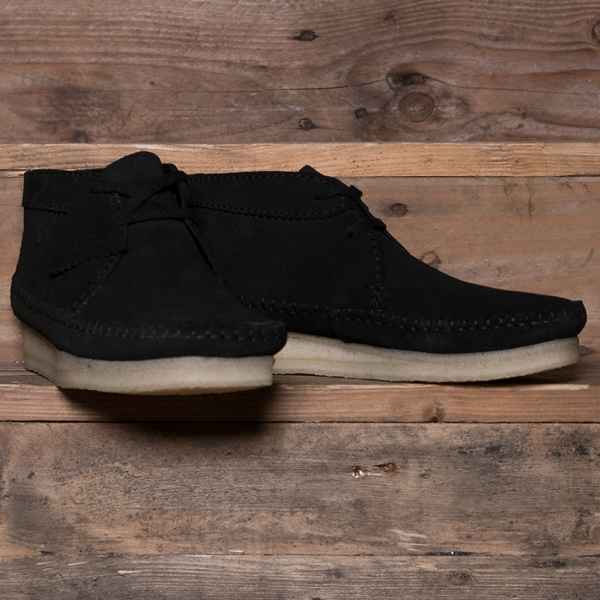 aca2466273d57 Clarks Originals Weaver Boot Suede Black – The R Store