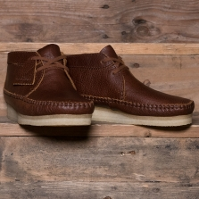 Clarks Originals Weaver Boot Leather Tan