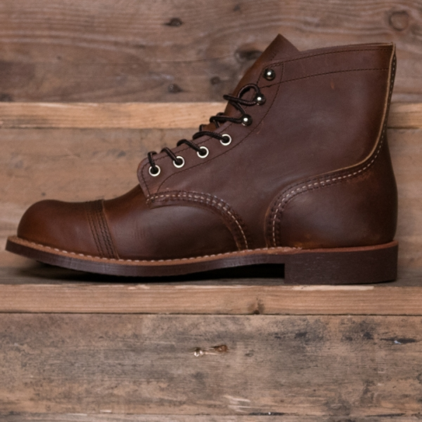 Red Wing 08085d Iron Ranger Boot Copper Rough Amp Tough