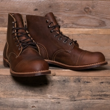 Red Wing 08085d Iron Ranger Boot Copper Rough & Tough