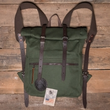 DULUTH PACKS Roll Top Scout Pack Olive