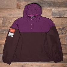 CHAMPION WOOD WOOD 211087 Hooded Jacket Ms521 Fuchsia Brown