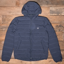Fred Perry J2514 Brentham Insulated Hooded Jacket 738 Dark Airforce