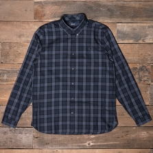 Fred Perry M2548 Winter Tartan Shirt 102 Black