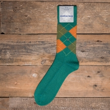 BURLINGTON 24284 Preston Socks 7233 Green