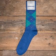 BURLINGTON 24284 Preston Socks 6047 Blue Green