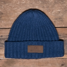 80s Casuals 80s Lambswool Beanie Cobalt Blue