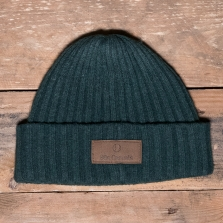 80s Casuals 80s Lambswool Beanie Ivy Green
