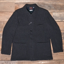 VETRA 5f 12/4 Double Faced Wool Workwear Jacket Anthracite