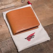Red Wing 95026 Veg Tan Bi Fol Dual Card Wallet London Tan