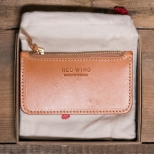Red Wing 95030 Veg Tan Zipper Pouch London Tan