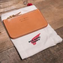 Red Wing 95030 Veg Tan Zipper Pouch London Tan