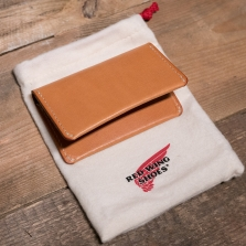 Red Wing 95029 Veg Tan Bi Fold Card Holder London Tan