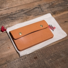 Red Wing 95023 Veg Tan Trucker Wallet London Tan