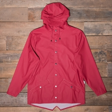Rains Waterproof Jacket Scarlet