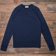 VELVA SHEEN 161153s 10oz Wv Raglan Sweat Navy