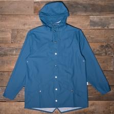 Rains Waterproof Jacket Faded Blue