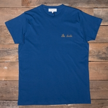 MAISON LABICHE Heavy Tee The Dude Cobalt Blue