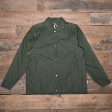 Rains Waterproof Coach Jacket Green
