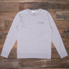 MAISON LABICHE Sweatshirt Old School Heather Grey