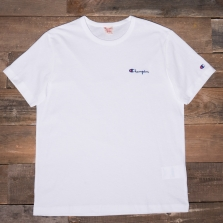 CHAMPION 211985 Logo T Shirt Ww001 White