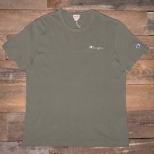 CHAMPION 211985 Logo T Shirt Gs518 Green