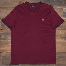 Fred Perry M3519 Ringer T Shirt 122 Port