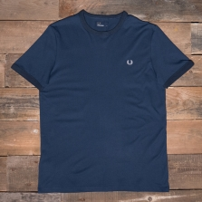 Fred Perry M3519 Ringer T Shirt D78 Dark Night