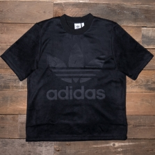 adidas Originals Cy3548 Velour Tee Black