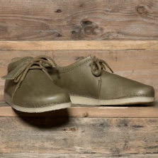 Clarks Originals Ashton Leather Olive