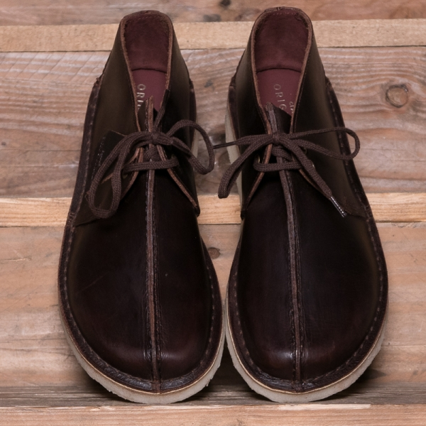 Clarks Originals Desert Trek Leather Chestnut The R Store