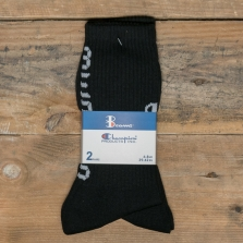 Champion Beams 804407 Beams 3pp Crew Socks 2 Pack Kk001 Black