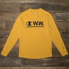 CHAMPION WOOD WOOD 211883 Long Sleeve Crewneck T Shirt Ys001 Old Yellow