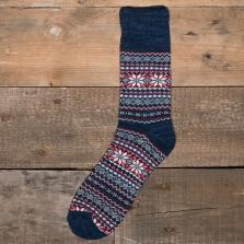 COMFY SOCKS Nordic Socks Blue