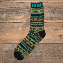 COMFY SOCKS Bohemia Socks Green