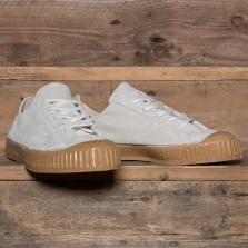 LASKAAS Suede Low Top Off White Gum